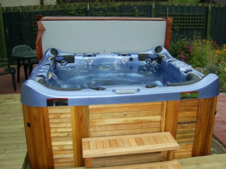 hot tub for the garden